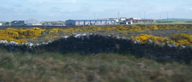 Sports facility buildings at RAF Valley