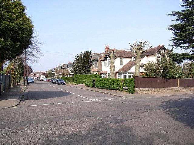 East side of St.Andrew's Road, Earlsdon