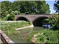 SP2545 : The new bridge from the old bridge, Halford by David P Howard