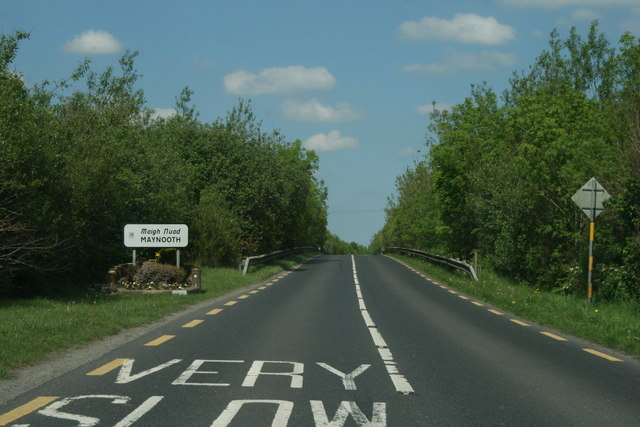On the R408, County Kildare