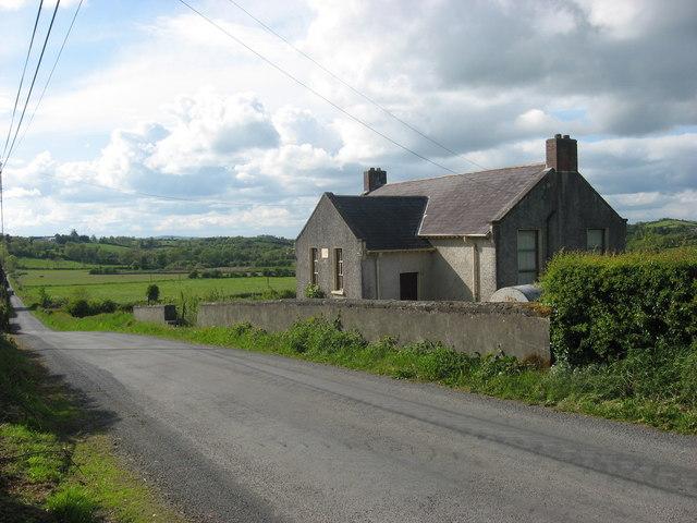 Old school at Clifferna, Co. Cavan