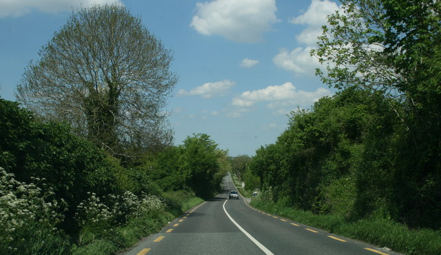 The R415, County Kildare