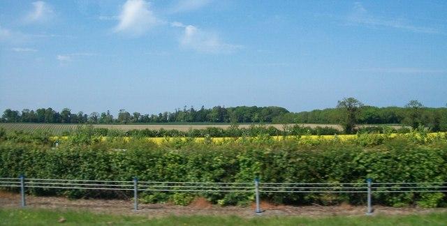 Cropland north of the M1 near Dardistown