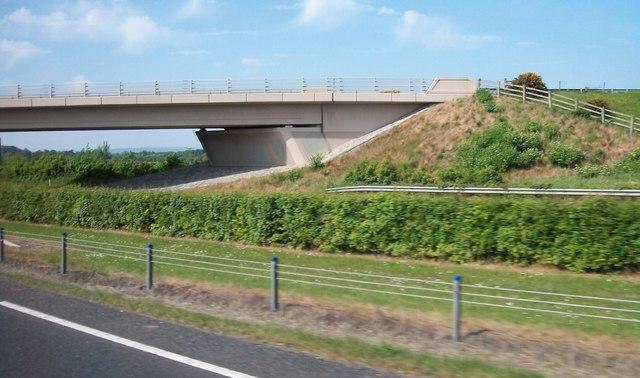 Bridge across the M1