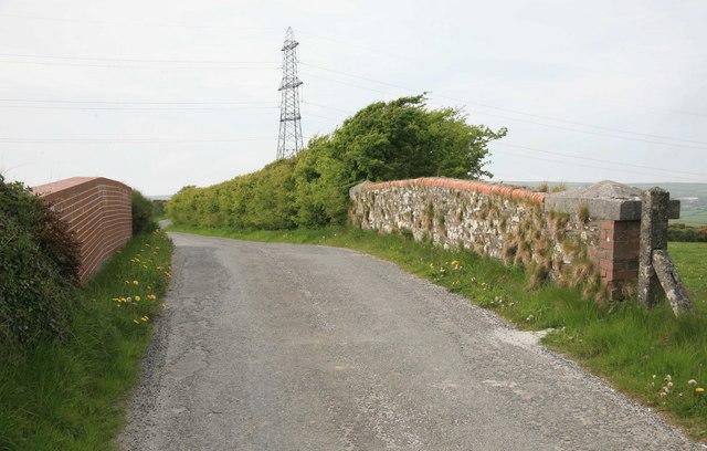 Former North Cornwall Railway bridge