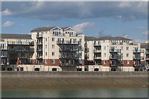 TQ6401 : Apartments at Sovereign Harbour by Oast House Archive