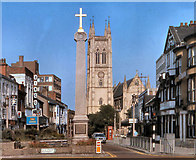 SD7109 : Marketgate Cross and Churchgate (1980) by David Dixon