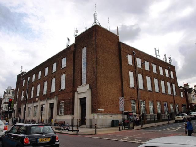 Telephone Exchange in Upper Tooting Road