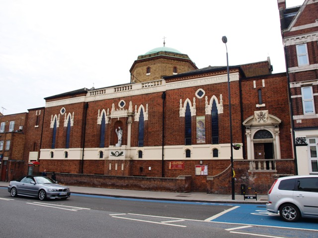 Saint Anselm's Roman Catholic Church in Upper Balham Road
