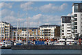TQ6401 : Marina at Sovereign Harbour by Oast House Archive
