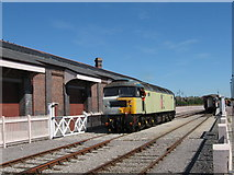 ST1167 : Hood Road station, Barry by Gareth James
