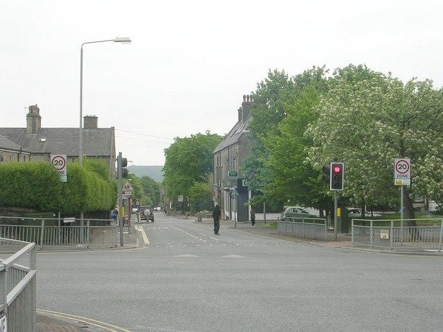 Parkinson Lane - viewed from Queen's Road