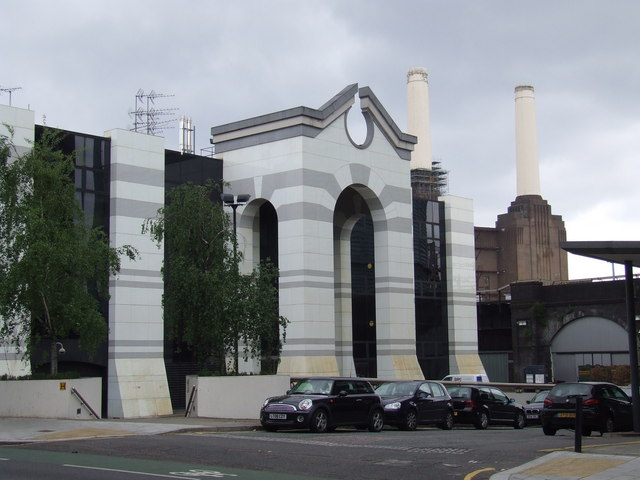 Marco Polo House and Battersea Power Station