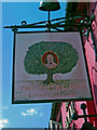 SU9200 : The Royal Oak pub sign, 336 Chichester Road, North Bersted by P L Chadwick