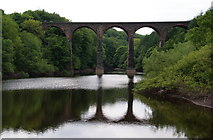 SD7217 : Bradshaw Brook Viaduct by Bill Boaden