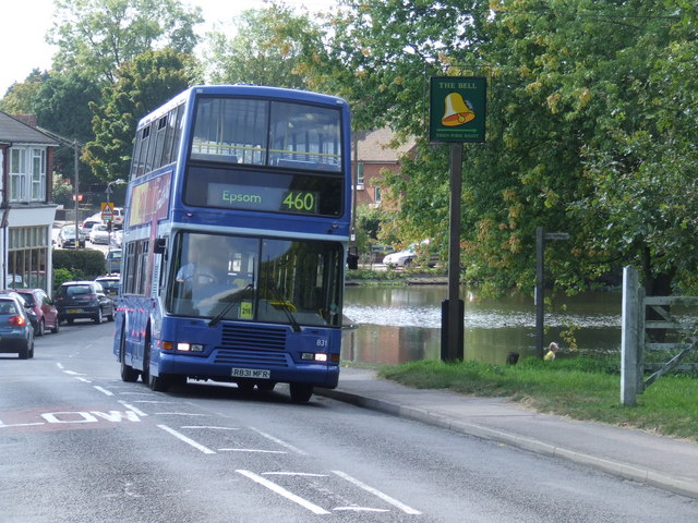 Bus at Walton-on-the-Hill
