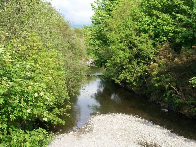 A placid Shimna River
