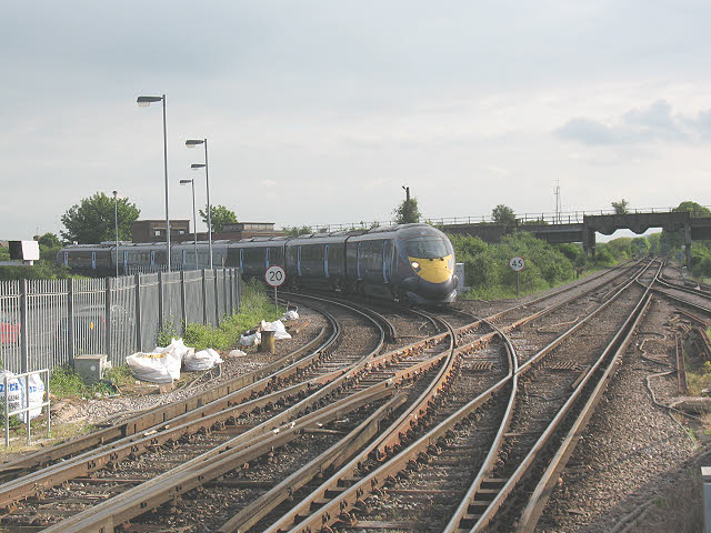 Javelin approaching Strood station