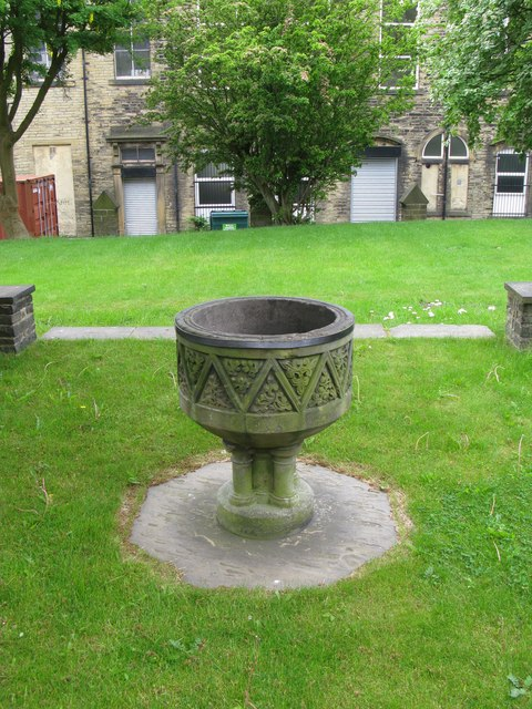 Old Font at St. Paul's Church, Queens Road