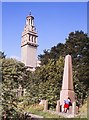 ST7367 : Beckford's Tower from the Cemetery by Nigel Mykura