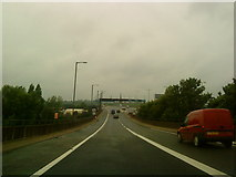 SP0990 : Approaching the Aston Expressway from the M6 by Andrew Abbott