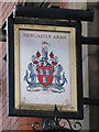 NZ2464 : Sign for The Newcastle Arms, St. Andrew's Street, NE1 by Mike Quinn