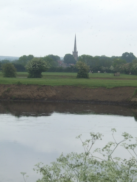 Ford on the River Trent at Ferry Meadow