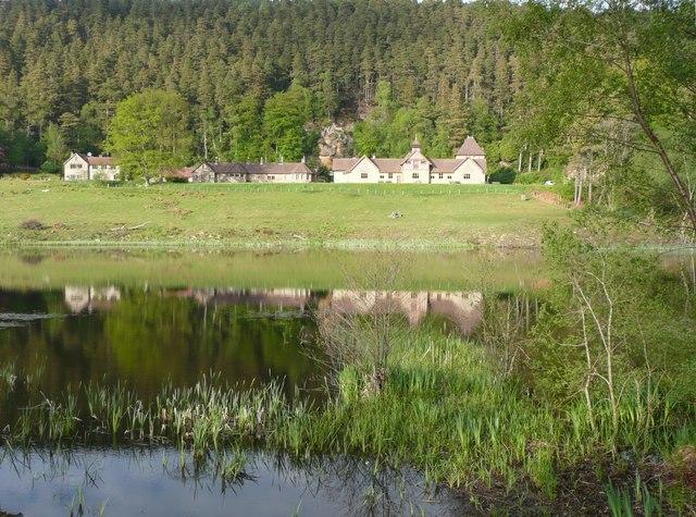 The visitor centre, Cragside