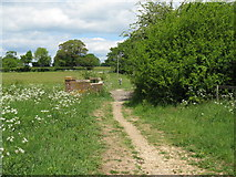 TQ0524 : Bridge carrying bridleway north to Wisborough Green by Dave Spicer