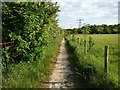 SE5117 : Footpath to the nature reserve by Christine Johnstone