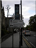 TQ2784 : Street sign, Haverstock Hill NW1 by Robin Sones