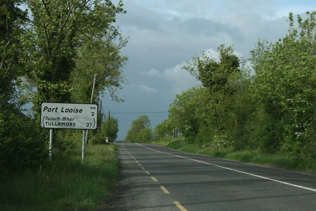 The R445, County Laois