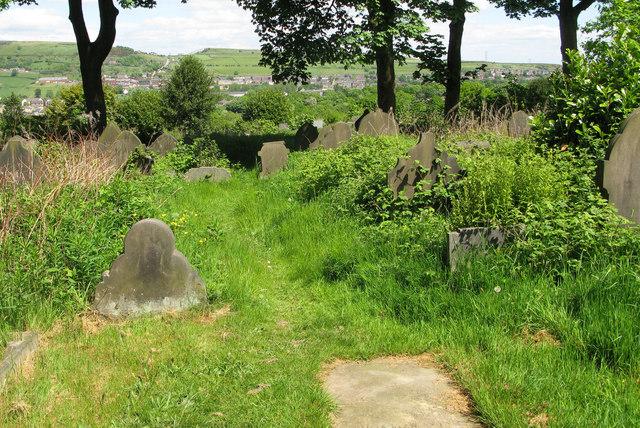 Christ Church, Mount Pellon, graveyard