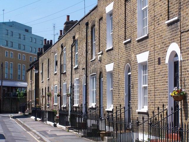 Terraced housing, Greenwich