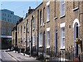 TQ3877 : Terraced housing, Greenwich by David Martin