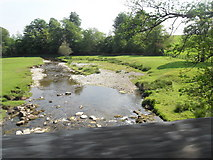 SD9058 : River Aire from Newfield Bridge by Anthony Parkes