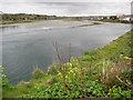 SW5537 : Estuary in Hayle by Philip Halling