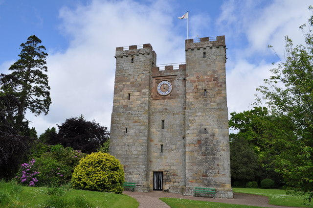 Preston Tower on a summer day