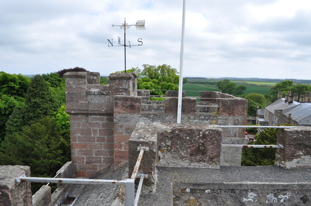 On top of Preston Tower