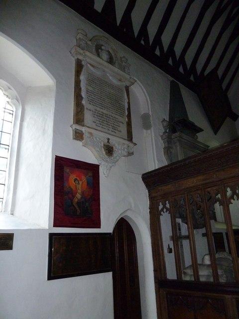 Inside St. Nicholas' Church, Chislehurst
