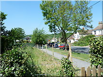 TQ4563 : Looking from St Mary's westwards along Worlds End Lane by Basher Eyre