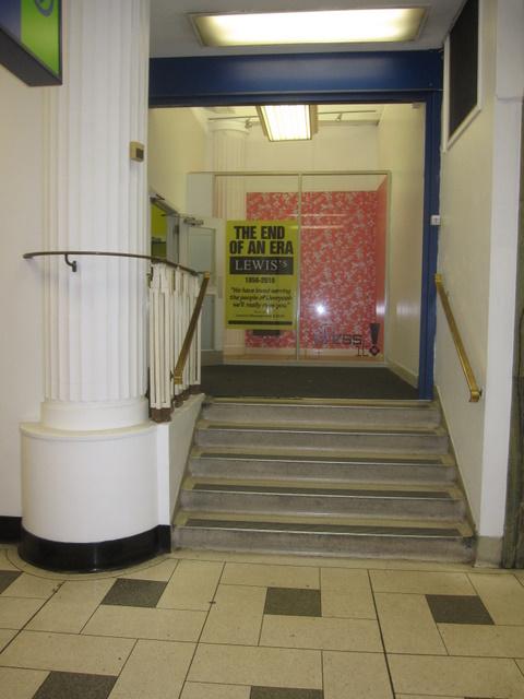 Lewis's - Renshaw Street entrance