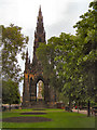 NT2573 : The Scott Monument by David Dixon