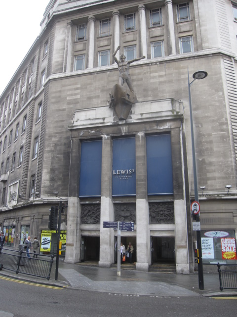 Lewis's - corner entrance