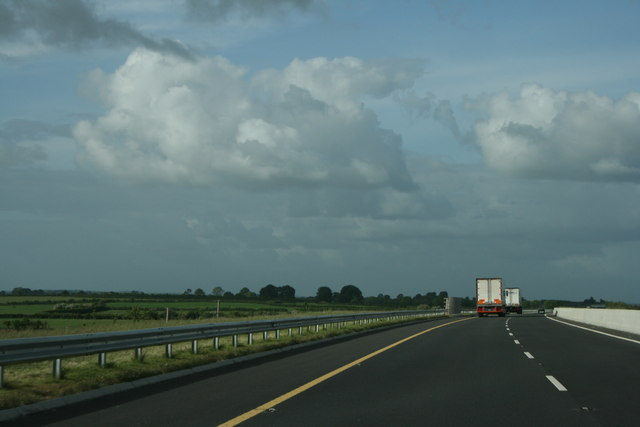The newly opened M8, County Tipperary