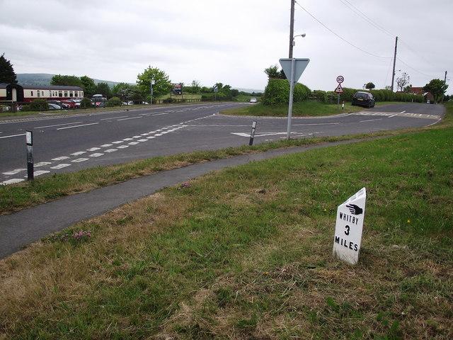 Old Mile Post
