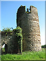 TF7027 : The ruined church of St Mary, Appleton - Saxon tower by Evelyn Simak