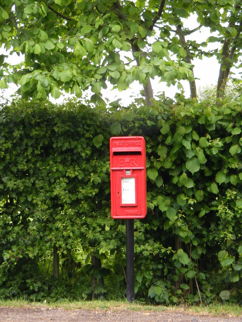 Former Post Office Postbox, New Road, Bawburgh