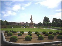 NS6064 : The Doulton Fountain, Glasgow Green, Glasgow by Stevie Spiers