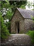 SX4268 : Chapel of St George and St Thomas, Cotehele by Derek Harper